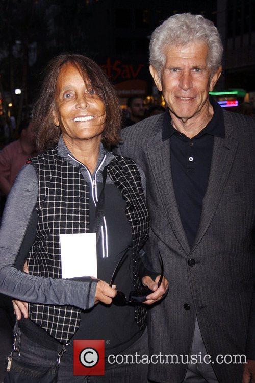 Jessica Burstein and Tony Roberts