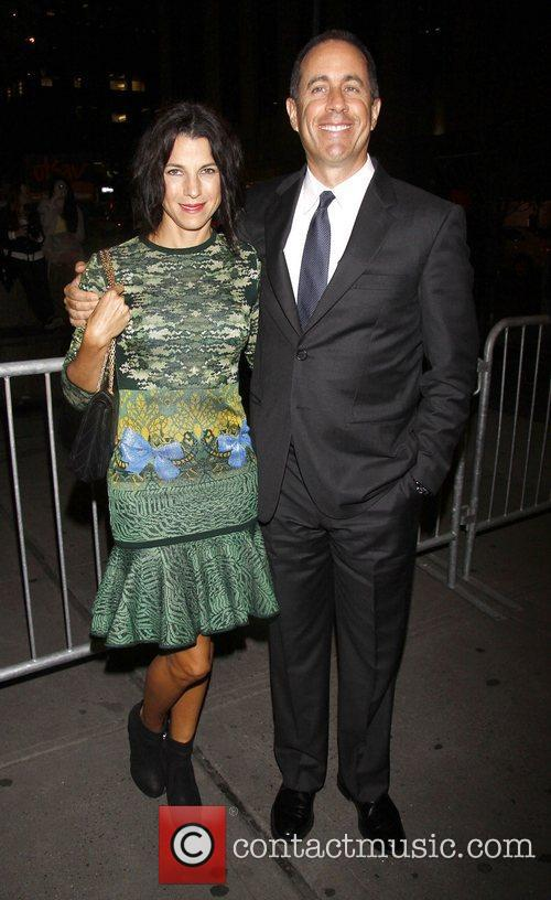 Jessica Seinfeld and Jerry Seinfeld 1