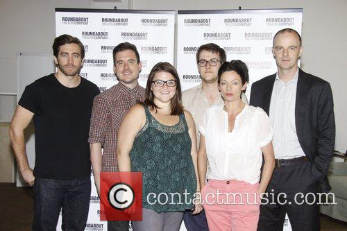 Photocall for the Roundabout Theatre Company's Off-Broadway Production...