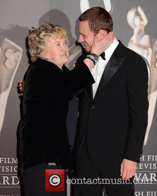 Brenda Fricker and Michael Fassbender