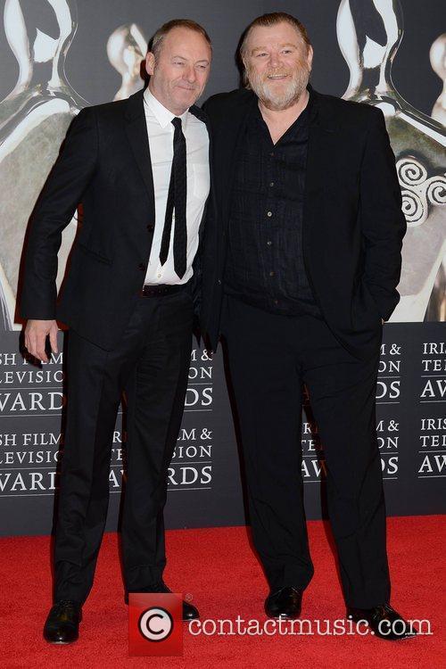 Liam Cunningham and Brendan Gleeson The Irish Film...