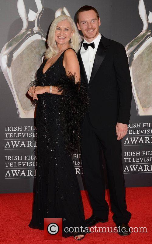 Olivia Tracey and Michael Fassbender The Irish Film...