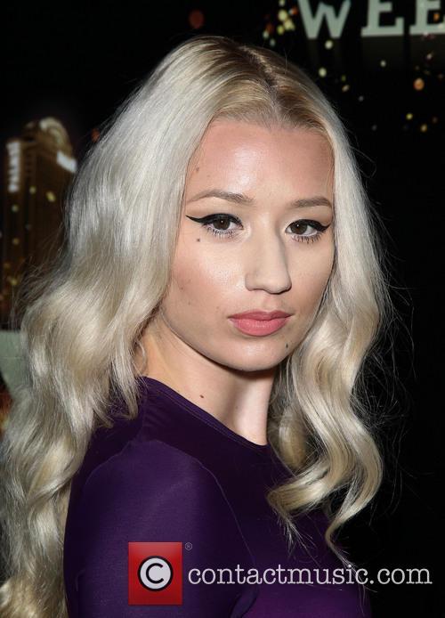 Hip-Hop Artist Iggy Azalea at Moon Nightclub at...