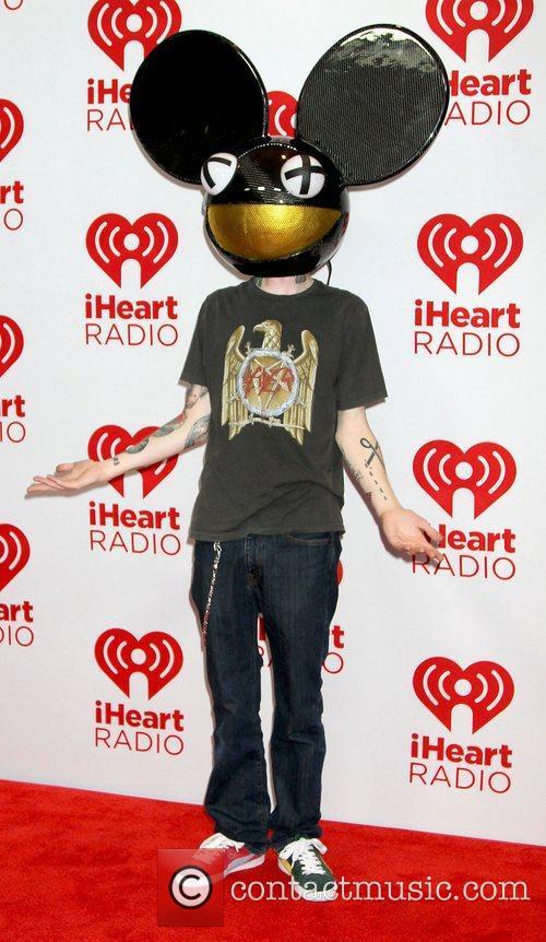 Deadmau5,  at the iHeart Radio Music Festival...
