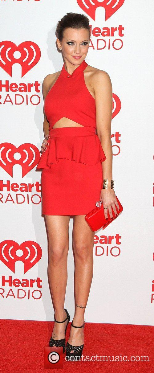 katie cassidy at the iheart radio music 4095242