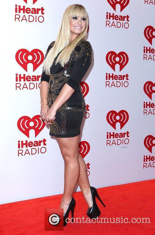 Demi Lovato iHeartRadio music festival at the MGM...