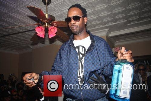 Juicy J  The Illmore Mansion party during...