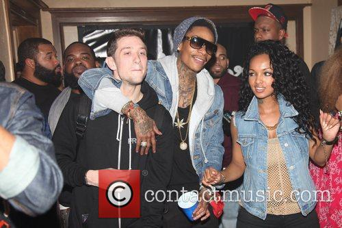 wiz khalifa the illmore mansion party during 5810589