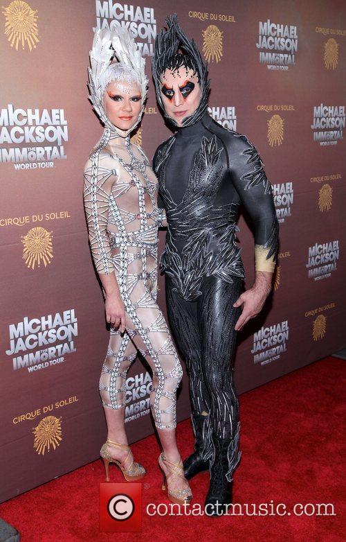 Performers Cirque Du Soleil's Michael Jackson: The Immortal...