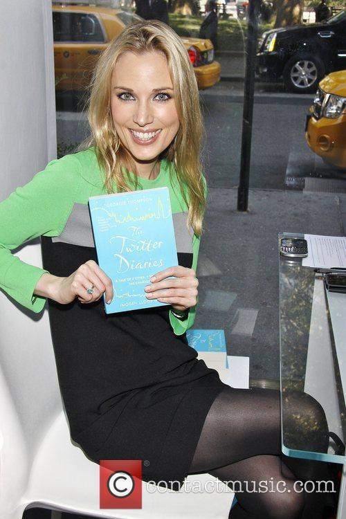 'The Twitter Diaries' book signing, hosted by Robin...