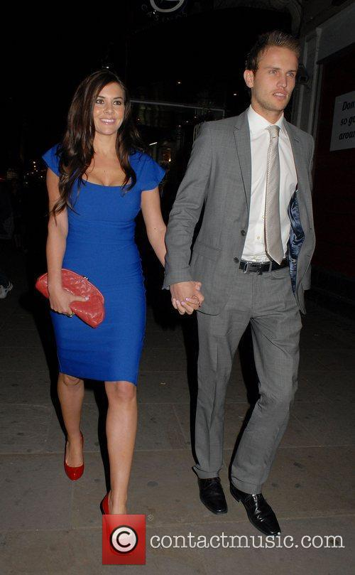 imogen thomas and adam horsley leaving the 3822976