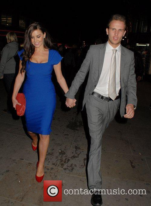 imogen thomas and adam horsley leaving the 3822983