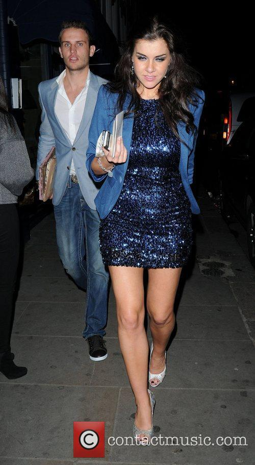 imogen thomas leaves zefi restaurant in fulham 3639458