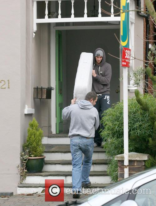 Adam Horsely Adam Horsely helps the removal men...
