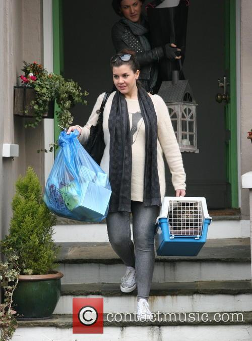 Imogen Thomas and Cat 6