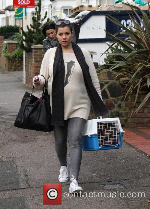 Imogen Thomas and Cat 3