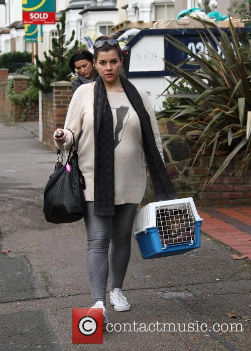 Imogen Thomas and Cat 4