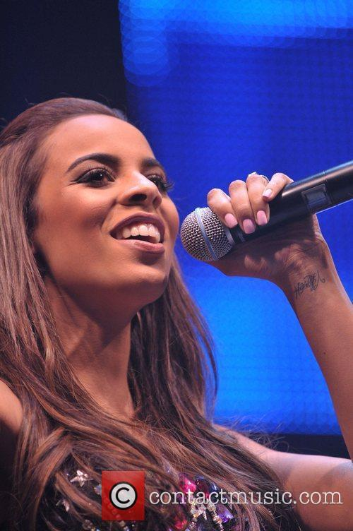 Performs on stage at In:Demand Live held at...