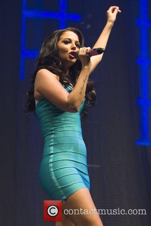 tulisa contostavlos performs on stage at indemand 3894237