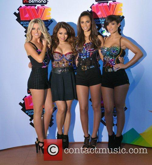 Mollie King, Frankie Sandford, Rochelle Wiseman, The Saturdays and Vanessa White 2