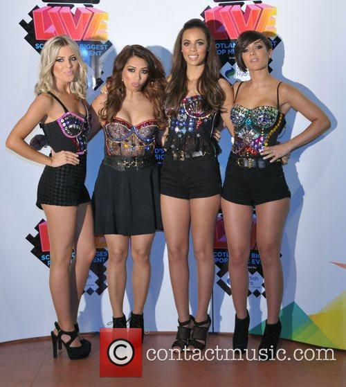 Mollie King, Frankie Sandford, Rochelle Wiseman, The Saturdays and Vanessa White 3