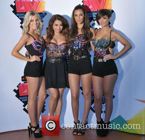 Mollie King, Frankie Sandford, Rochelle Wiseman, The Saturdays and Vanessa White 4