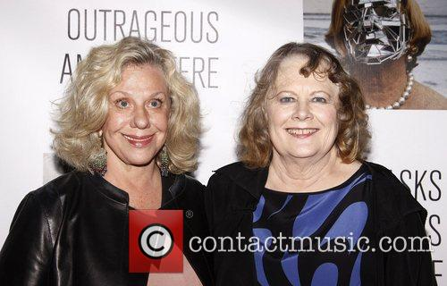 Erica Jong and Shirley Knight