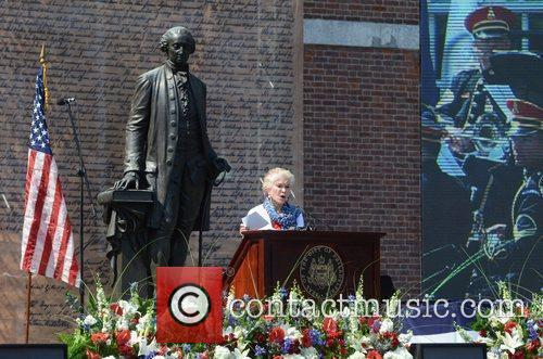 Philadelphia Independence Day Ceremony held at Independence Hall