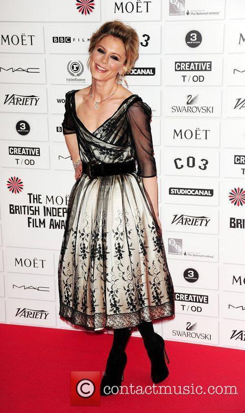 Emilia Fox Moet British Independent film awards 2011...