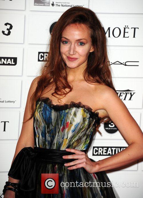 Olivia Grant Moet British Independent film awards 2011...