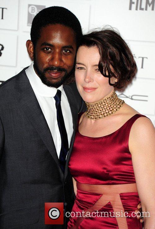 Rhashan Stone and Olivia Williams Moet British Independent...
