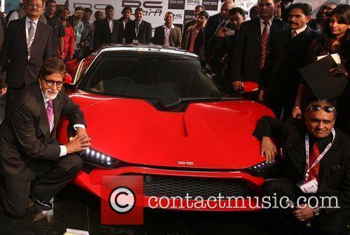 Bollywood actor Amitabh Bhachchan with Dilip Chhabria Auto...