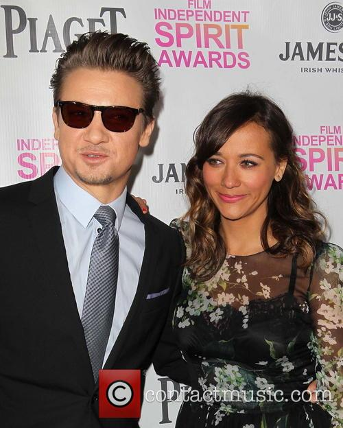 Jeremy Renner and Rashida Jones 10