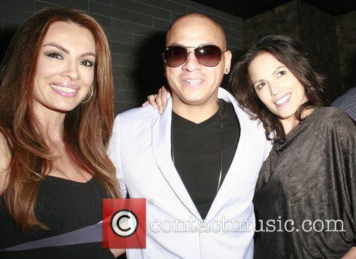 Actress Korrina Rico hosts the grand opening of...