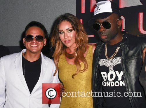 Mr Troy, Korrina Rico and Sam Sarpong Actress...