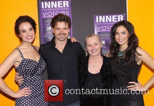 Alexandra Silber, Hunter Foster and Arielle Jacobs 6