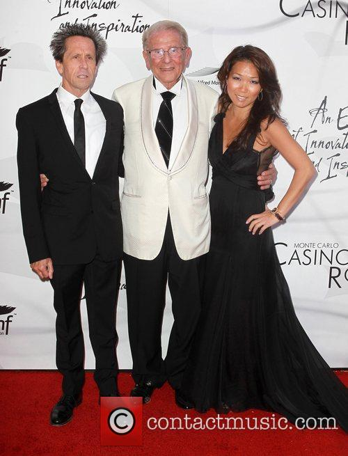Brian Grazer, Alfred Mann and Keli Lee 5