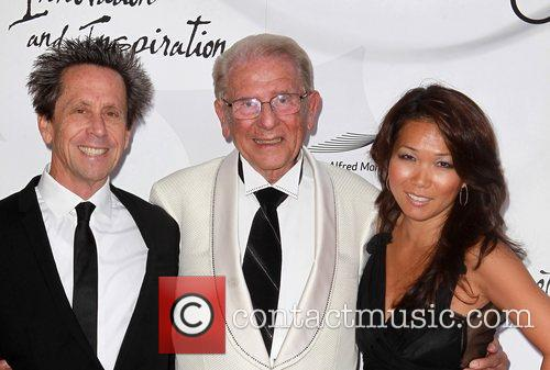 Brian Grazer, Alfred Mann and Keli Lee 2