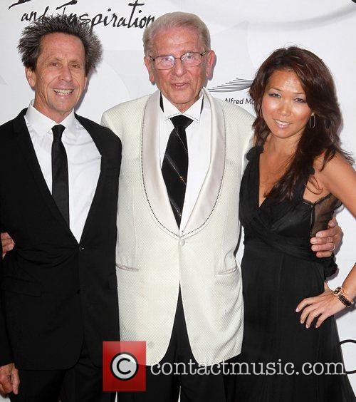 Brian Grazer, Alfred Mann and Keli Lee 6