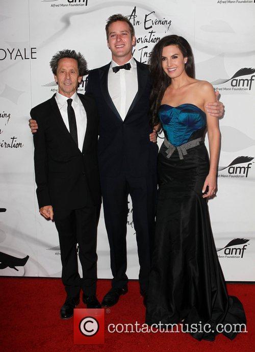 Brian Grazer, Armie Hammer and Elizabeth Chambers 7