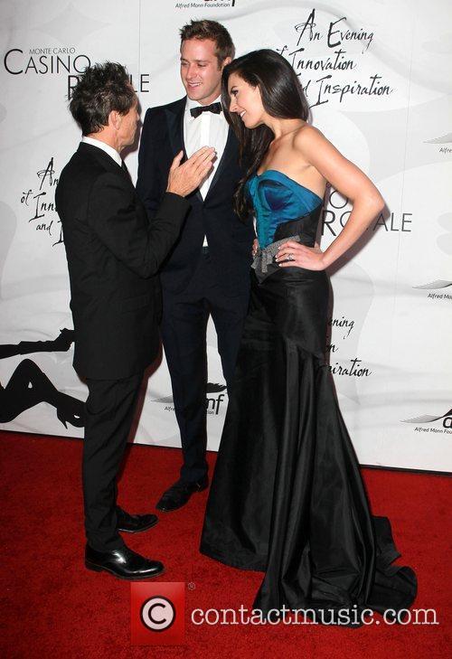 Brian Grazer, Armie Hammer and Elizabeth Chambers 1