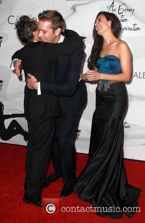 Brian Grazer, Armie Hammer and Elizabeth Chambers 8