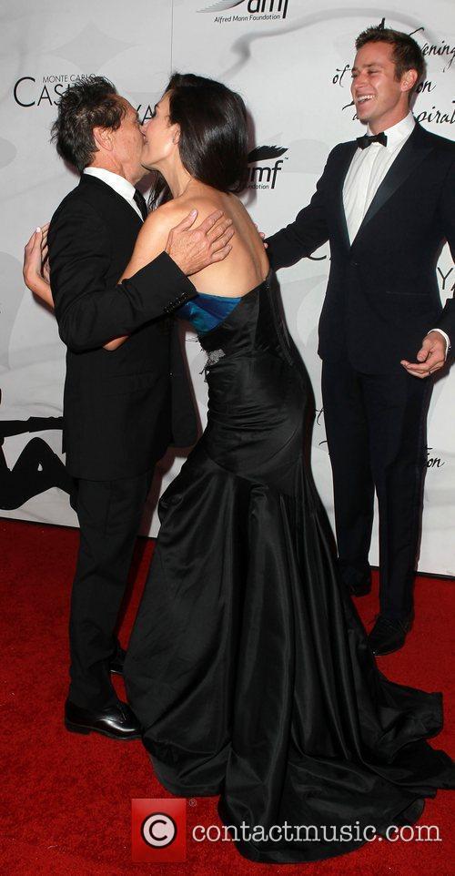 Brian Grazer, Armie Hammer and Elizabeth Chambers 3