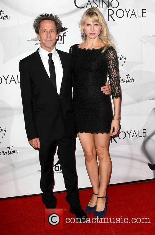 Brian Grazer and Lucy Punch