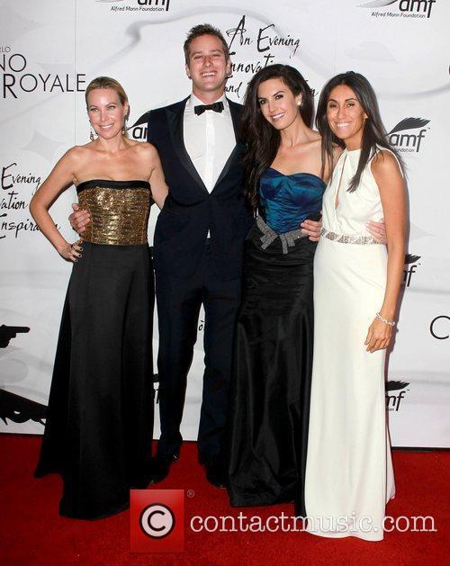 Cassandra Mann, Armie Hammer, Elizabeth Chambers and Berna Kaso 6