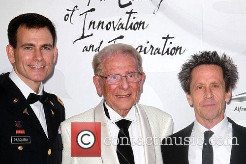 Paul Pasquina, Alfred Mann and Brian Grazer 2