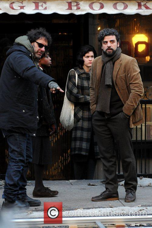 Joel Coen and Oscar Isaac 3