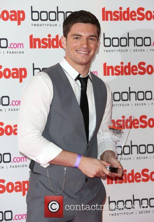 David Witts - winner The Inside Soap Awards...