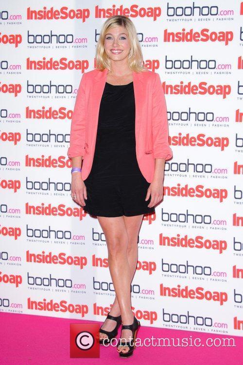 Lauren Drummond Inside Soap Awards 2012 Sponsored by...