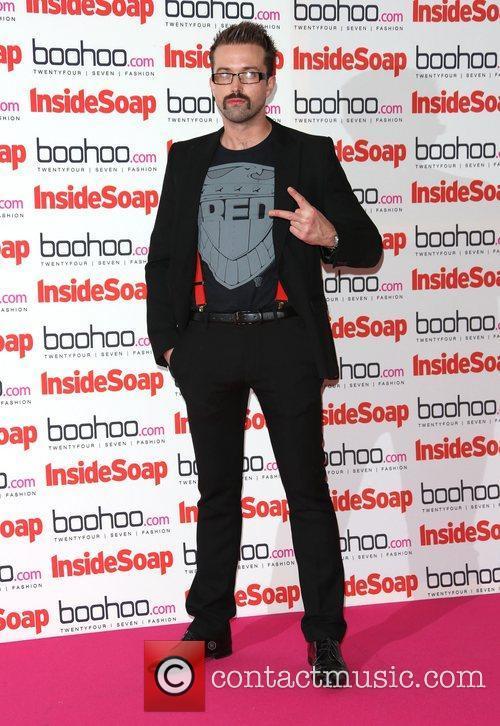 Emmett J Scanlan The Inside Soap Awards 2012...